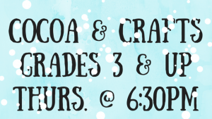 Cocoa & Crafts