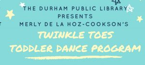 Twinkle Toes Toddler Dance Program @ Durham Public Library | Durham | Connecticut | United States