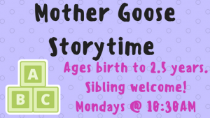Mother Goose Storytime @ Durham Public Library | Durham | Connecticut | United States