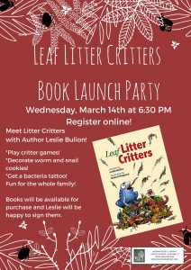 Leaf Litter Critter Book Launch Party