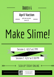 Slime! (2 PM Session)