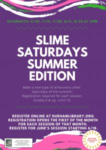 Slime Saturday Summer Edition!