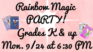 Rainbow Magic Party
