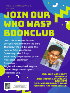 Who Was? Book Club
