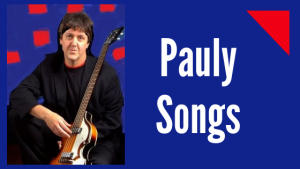 Pauly Songs in Concert